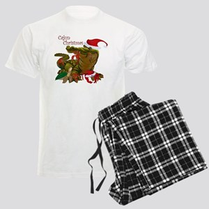 Cajun Christmas Men's Light Pajamas